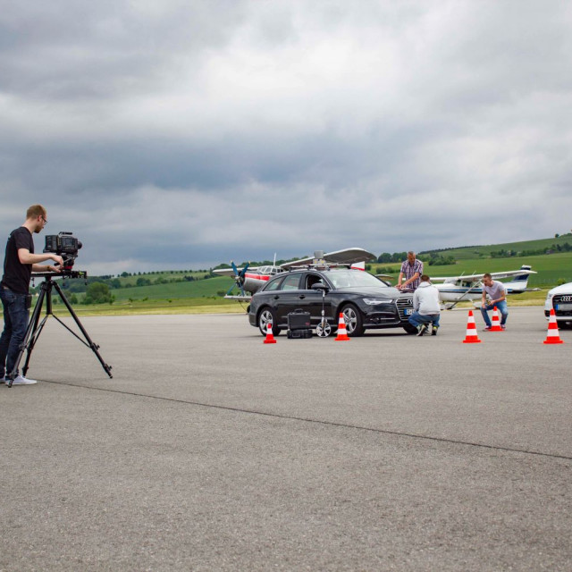 Szene aus Automotive Filmproduktion